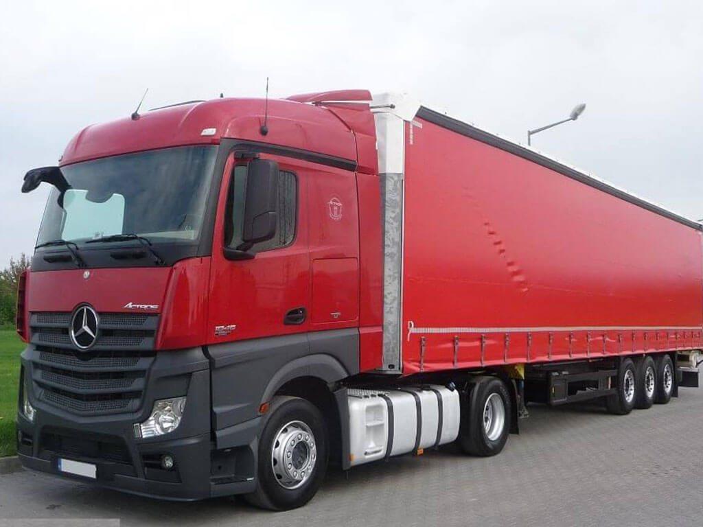 Transport drogowy - spedycja